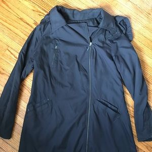 Cole Haan Lined Rain Jacket